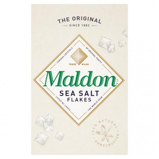 Maldon Sea Salt plokštieji jūros druskos kristalai