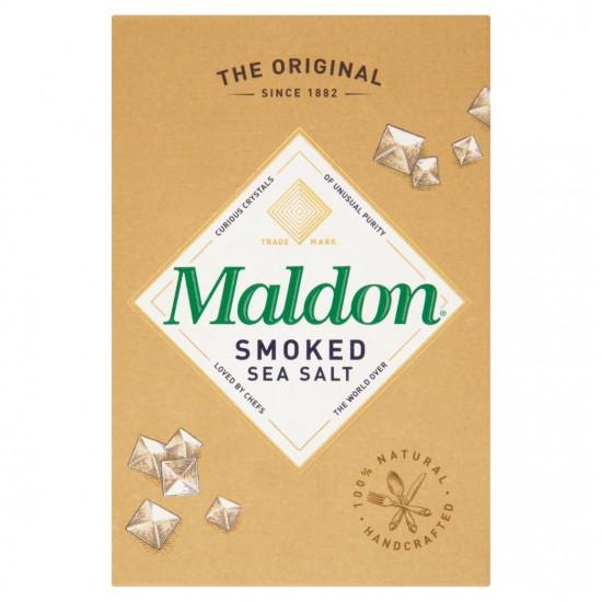 Maldon Sea Salt rūkyti plokštieji jūros druskos kristalai