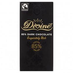 Divine juodasis šokoladas 85%