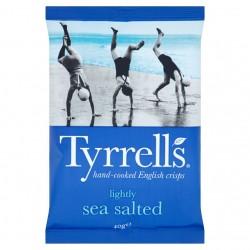 Lengvai sūdyti Tyrrell's bulvių traškučiai su jūros druska