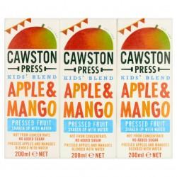 Obuolių ir vasaros uogų sultys su vandeniu Cawston Press