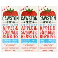 Obuolių ir mango sultys su vandeniu Cawston Press