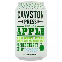 Obuolių sultys su gazuotu šaltinio vandeniu Cawston Press, be pridėto cukraus, 330 ml