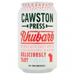 Cawston Press rabarbarų ir saldžiųjų obuolių sultys su gazuotu vandeniu