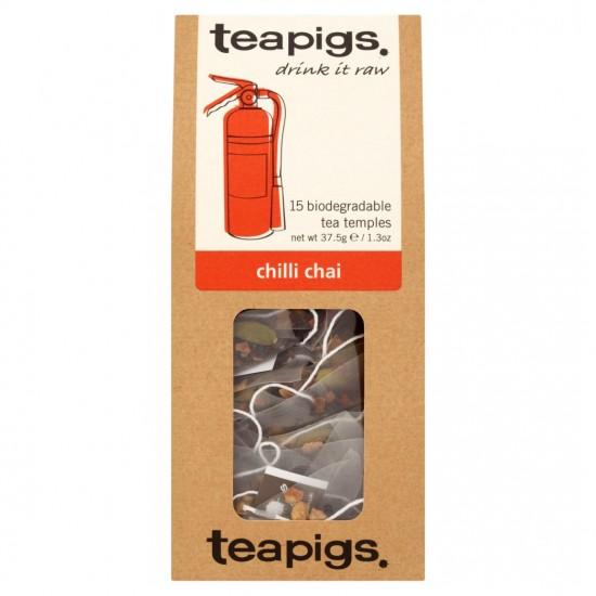 Arbata juodoji chilli chai Teapigs