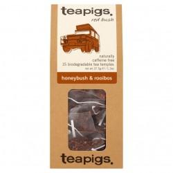 Arbata medaus krūmo ir rooibos be kofeino Teapigs, 15 šilkinių pakelių
