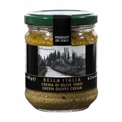 Žaliųjų alyvuogių padažas Bella Italia