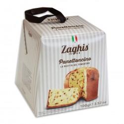 Panettoncino tradicinis su razinomis ir apelsinų cukatomis, 100 gr