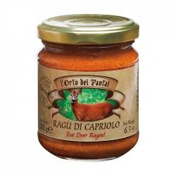 Tradicinis itališkas stirnienos ragu  l'Orto dei Pastai, 180 g