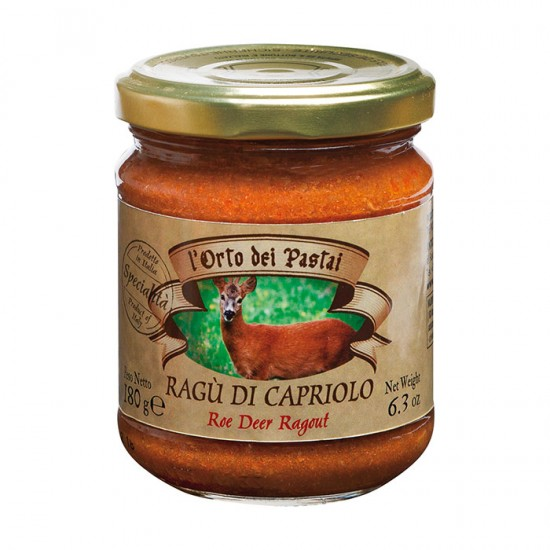 Tradicinis itališkas stirnienos ragu (padažas)  l'Orto dei Pastai, 180 g