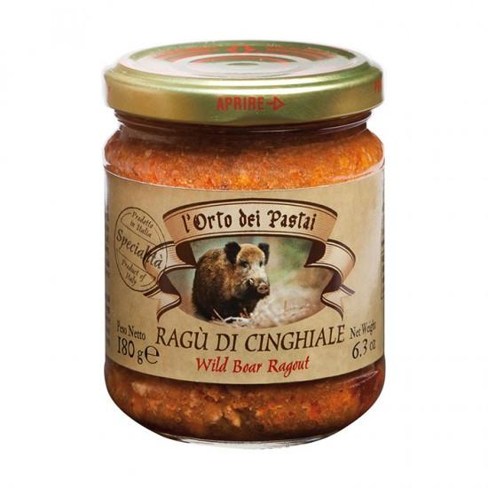 Tradicinis itališkas šernienos ragu (padažas)  l'Orto dei Pastai, 180 g