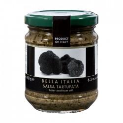 Grybų ir juodųjų trumų padažas Bella Italia, 180 gr