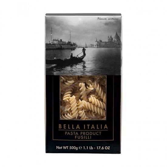 Bella Italia kietųjų kviečių makaronai fussili (spiralės), 500 gr