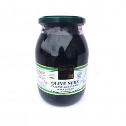 Alyvuogės, juodos be kauliukų (Celline Del Salento)