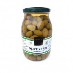 Alyvuogės, žaliosios su kauliukais (pesciolina)