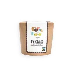 Cocoa Loco ekologiškas rankų darbo geriamas juodas šokoladas, 200 gr