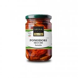 Saulėje džiovinti pomidorai aliejuje SPINA 280 gr