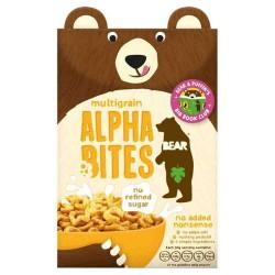Bear Nibbles Alphabites įvairių grūdų sausi pusryčiai, 375 gr