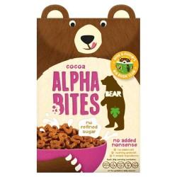 Bear Nibbles Alphabites kakaviniai sausi pusryčiai, 375 gr