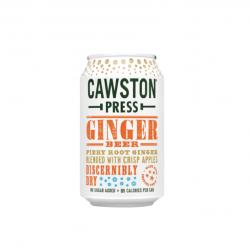 Imbierinis gėrimas be pridėto cukraus su gazuotu vandeniu Cawston Press, 330 ml
