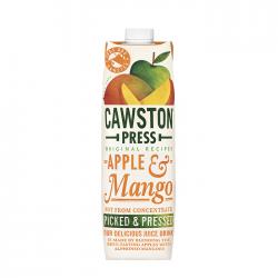 Obuolių ir mango sultys be pridėto cukraus Cawston Press, 1 L