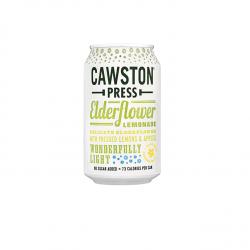 Šeivamedžių limonadas be pridėto cukraus su gazuotu vandeniu Cawston Press, 330 ml