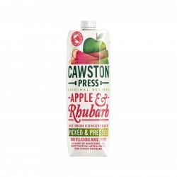 Obuolių ir rabarbarų sultys be pridėto cukraus Cawston Press, 1 L