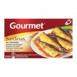 Sardinės pomidorų padaže GOURMET, 88 gr