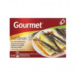 Sardinės marinate GOURMET, 88 gr