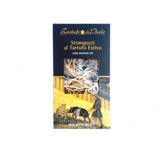Kietųjų kviečių makaronai strangozzi su trumais Il Tartufo di Paolo, 250 gr
