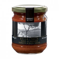 Pomidorų ir bazilikų padažas Bella Italia, 180 gr